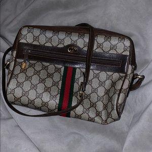 Vintage Gucci Crossbody Shoulder Bag